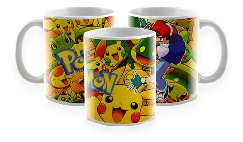 chinelo do ash pokemon com caneca de brinde a pronta entrega