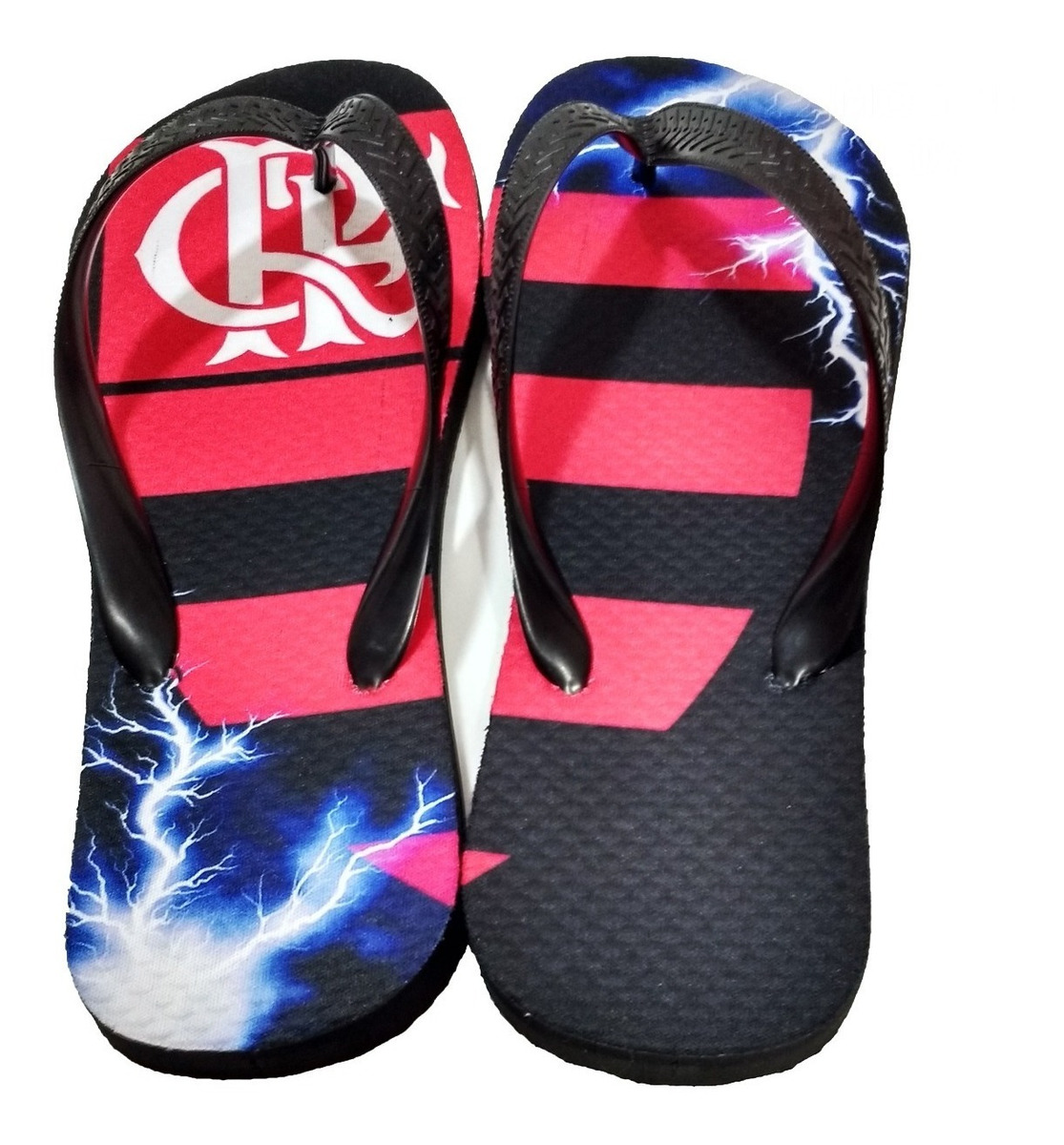 7ce7fe6cc69d82 Chinelo Do Flamengo - Personalizado Mod 07