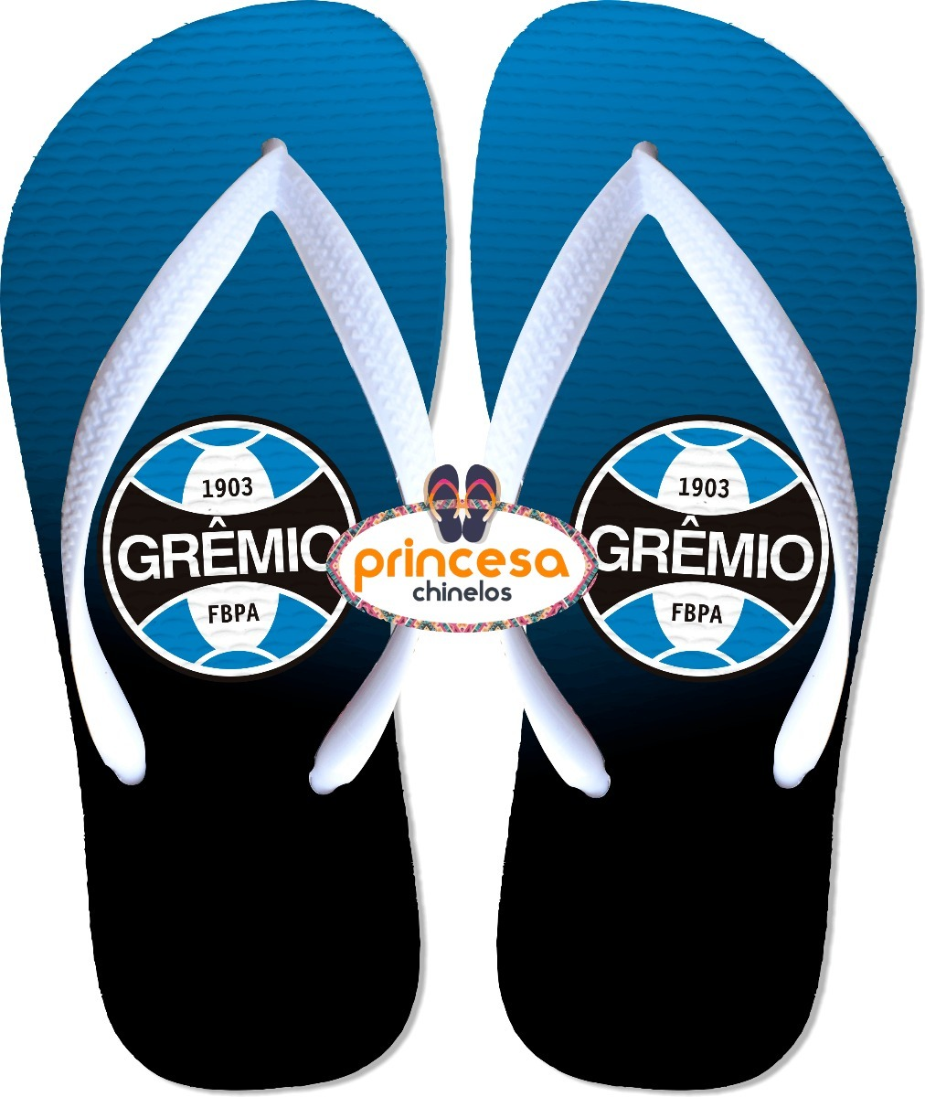 chinelo do time gremio personalizado. Carregando zoom. 5b2eea3e4374a