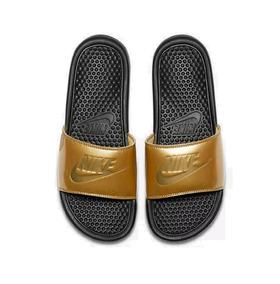 bf750a4e64c Chinelo Nike Feminino Dourado - Chinelos no Mercado Livre Brasil