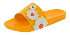 149ecae9591fb3 Chinelo Feminino Slide Amarelo Zaxy - 17333