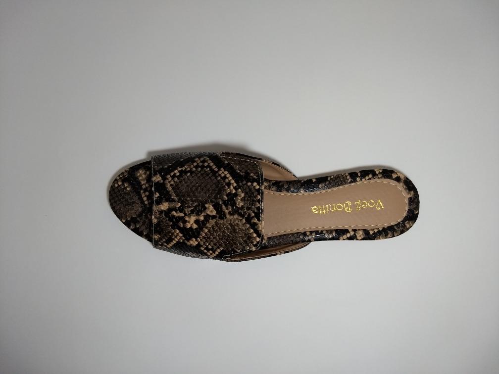baa634a80 chinelo feminino slide animal print croco cobra rasteirinha. Carregando  zoom.