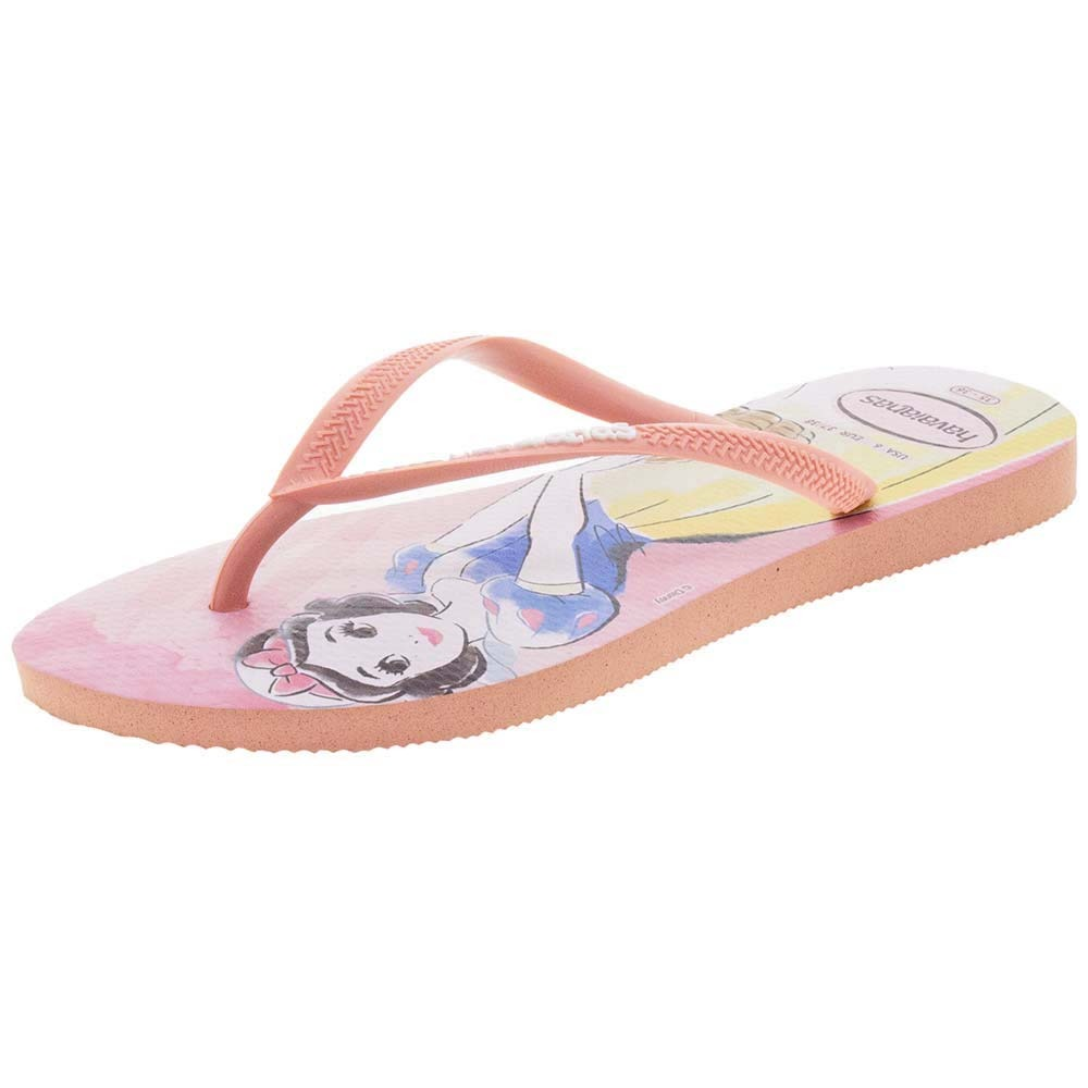 1aa4b8789 chinelo feminino slim princesas rosa havaianas - 4135045. Carregando zoom.