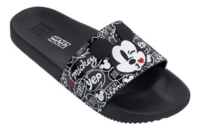 bfe94f78a647ca Chinelo Feminino Zaxy Pop Mickey Slide Colonelli 17977