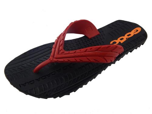 chinelo gooc sandália supera 3 borracha pneu - frete grátis