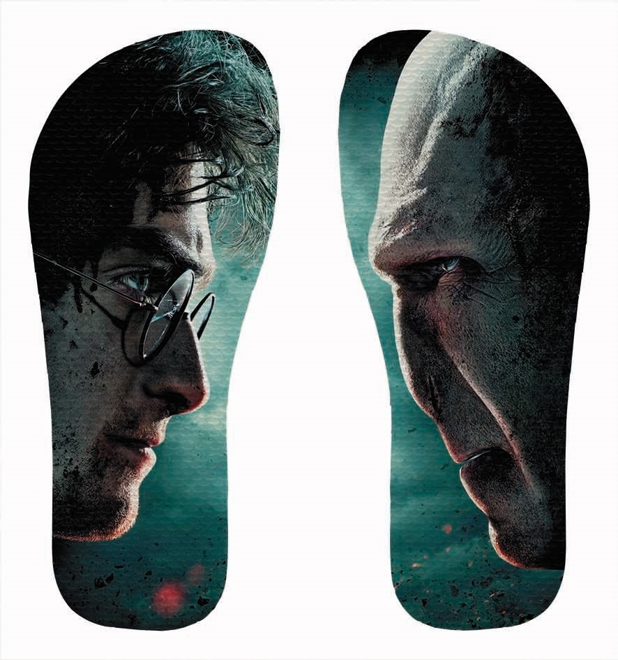 6006e0b6378 Chinelo Harry Potter E As Relíquias Da Morte - And The Death - R  35 ...