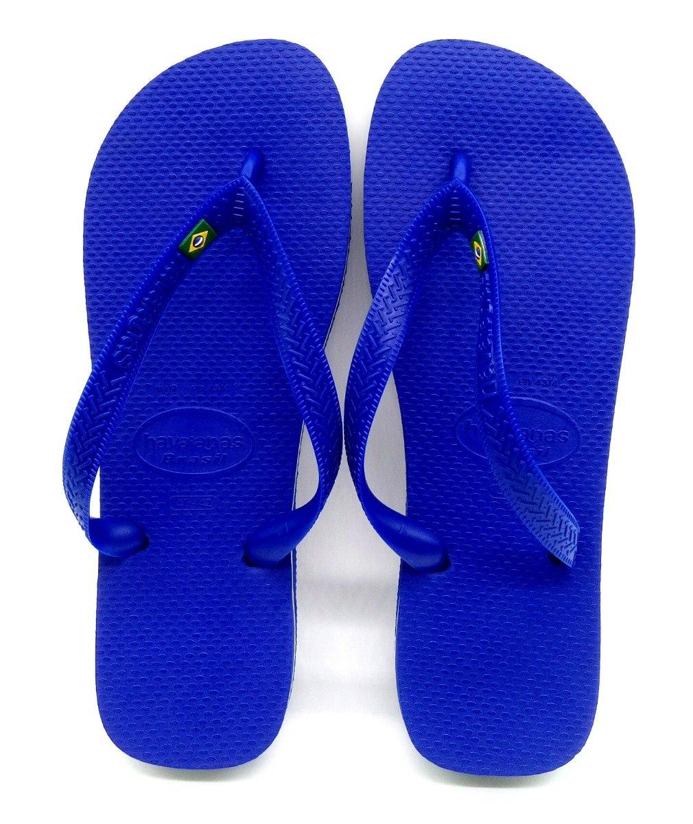 6a1a66bf2b chinelo havaianas brasil masculino azul original. Carregando zoom.