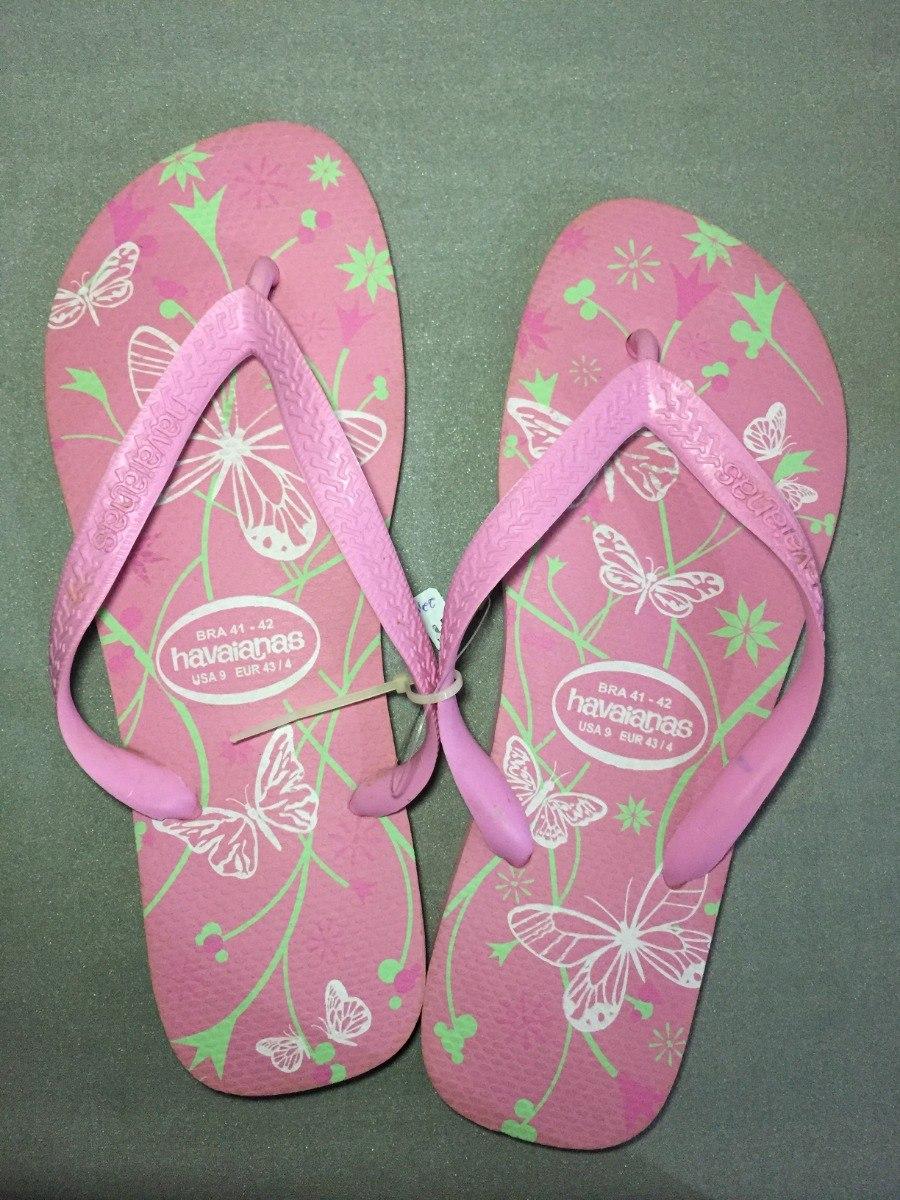 6449ec63dd Chinelo Havaianas Feminino Rosa - Produto Original Tm 41-42 - R  19 ...