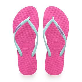 ebadbc0016 Havaianas Slin Ice Pink Feminino - Sandálias e Chinelos com o Melhores  Preços no Mercado Livre Brasil