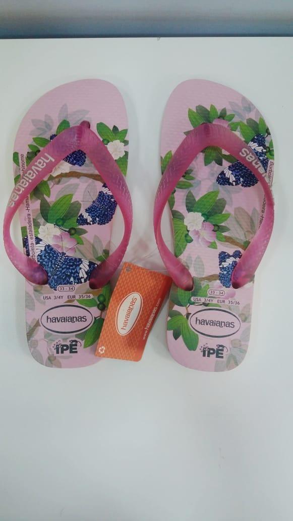 e5d79a116 chinelo havaianas ipe rosa cream rosa. Carregando zoom.