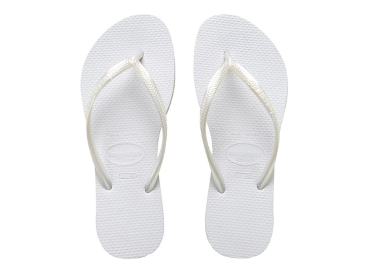 9528591f5 chinelo havaianas original slim branco white post. até 3 hs. Carregando  zoom.