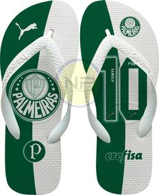 f2b9e37ae Chinelo Palmeiras Adidas - Sapatos no Mercado Livre Brasil