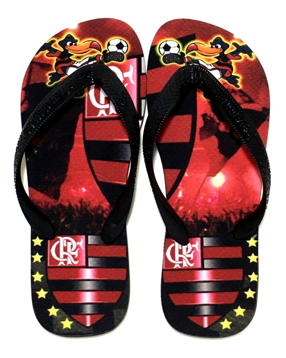 78a24b31a5850a Chinelo Havaianas Personalizado Flamengo