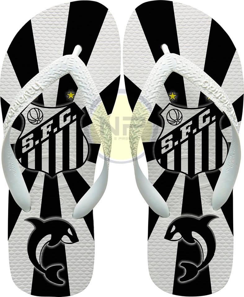 a870b555f chinelo havaianas personalizado santos - mascote. Carregando zoom.