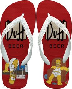 cdd975558 Chinelo Havaianas Os Simpsons Chinelos - Sapatos no Mercado Livre Brasil