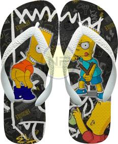 232a73f33 Guitarra Personalizada Dos Simpsons - Sapatos no Mercado Livre Brasil