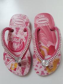 29ec03864 Chinelo Havaianas Infantil Decorados Com Pedrarias - Calçados, Roupas e  Bolsas no Mercado Livre Brasil