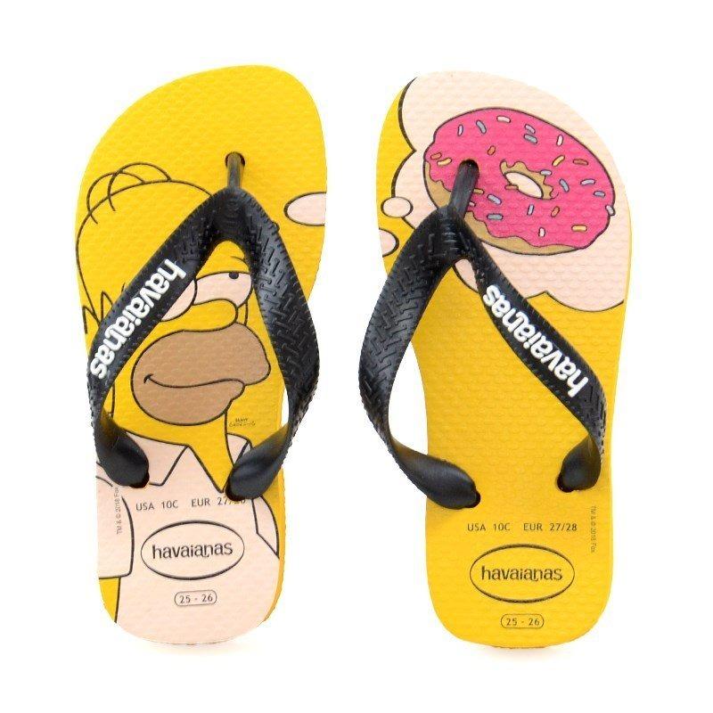 47701de7b chinelo havaianas simpsons infantil amarelo banana - 137889-. Carregando  zoom.