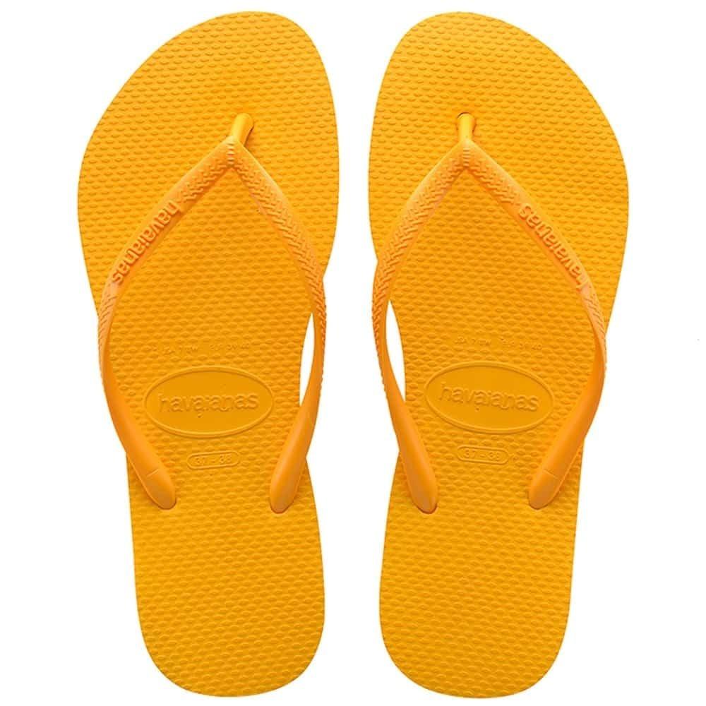 87d5e7e71e0f chinelo havaianas slim amarelo banana. Carregando zoom.