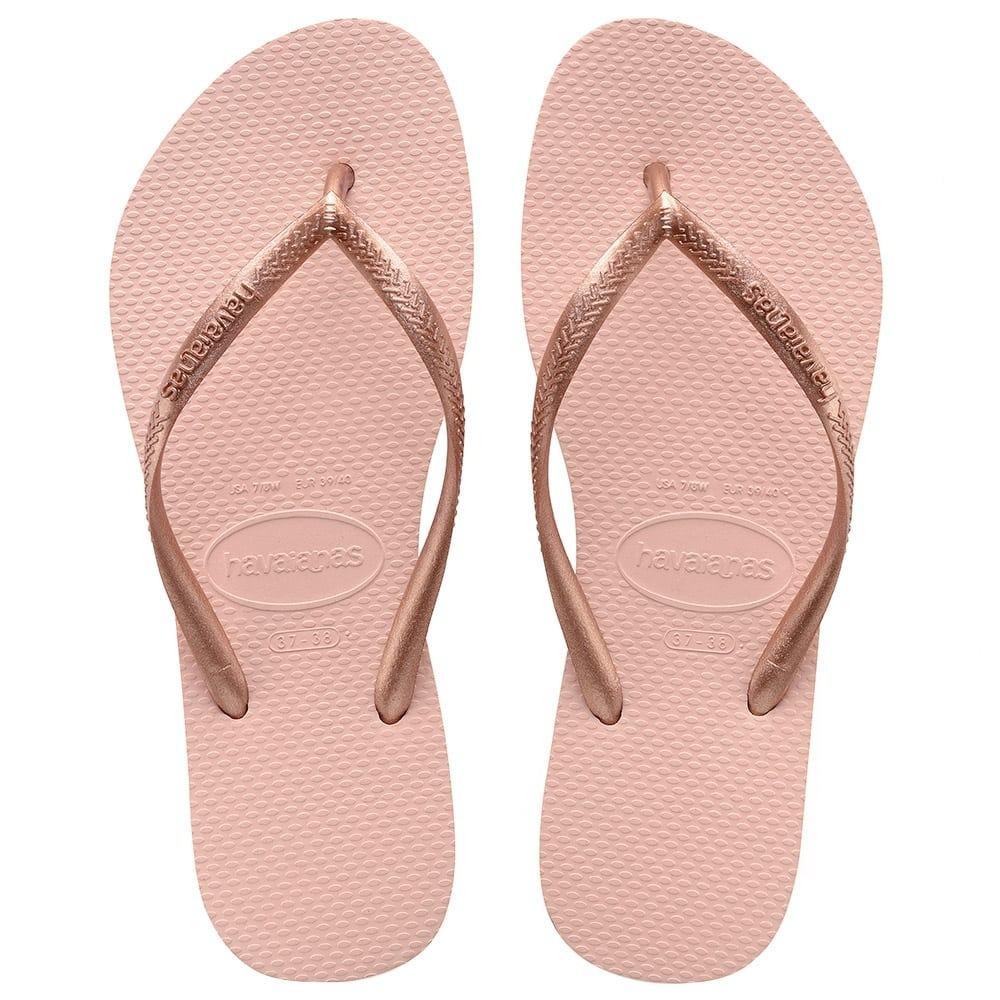 4c652b339925 chinelo havaianas slim rosa ballet. Carregando zoom.