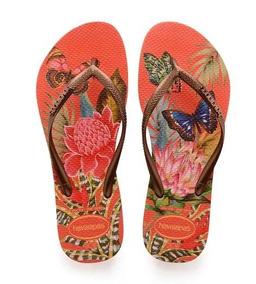66a6048822 Havaianas Slim Tropical Lançamento Verão Chinelos - Sandálias e Chinelos no  Mercado Livre Brasil