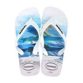 01342a56a Havaianas Surf Branca - Chinelos para Masculino Azul no Mercado ...
