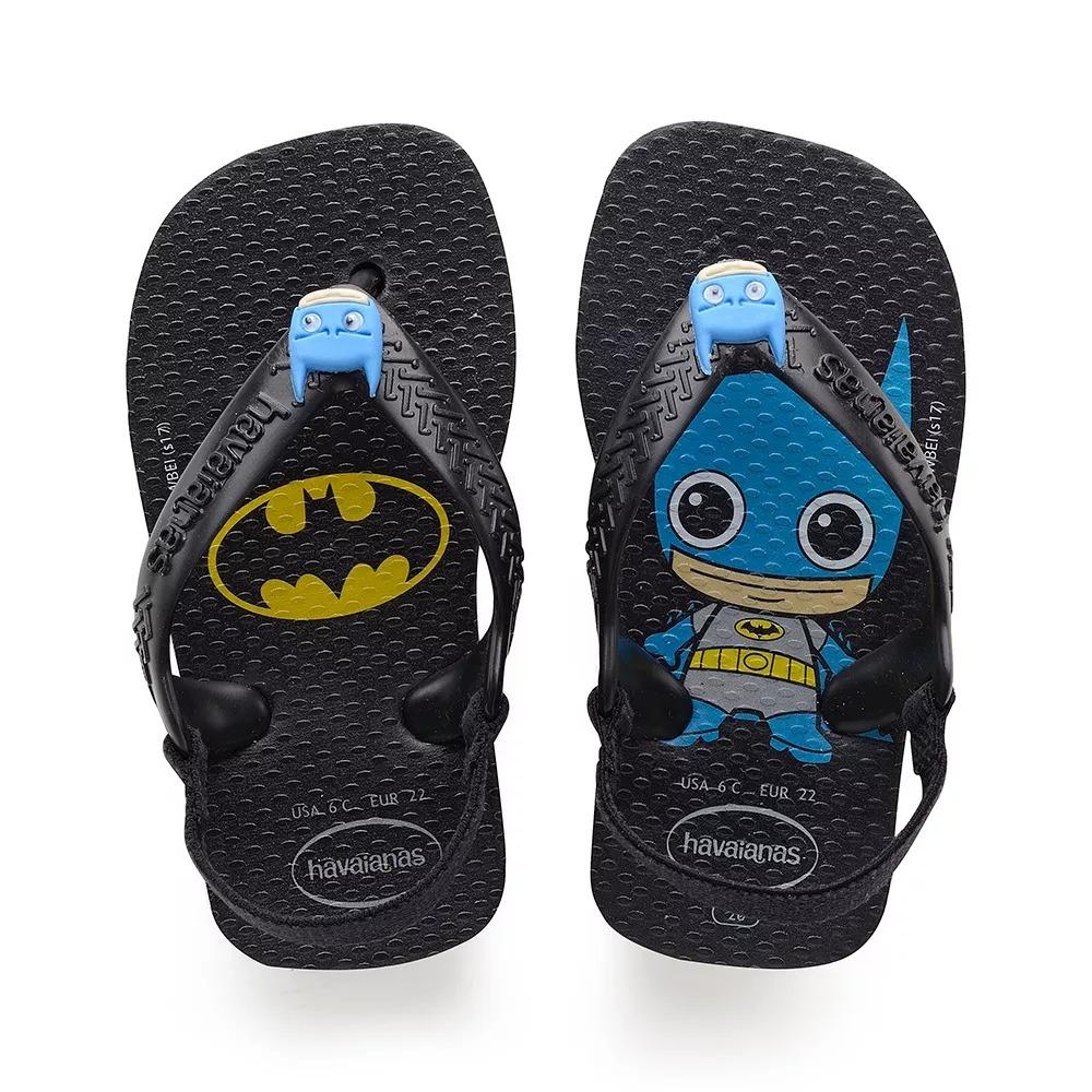 ac70fa4c99 Chinelo Infantil Havaianas Herois Mulher Maravilha E Batman - R  32 ...