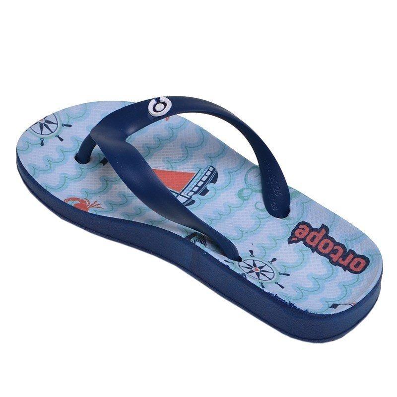93af044c3f chinelo infantil menino marinheiro ortopé azul claro e marin. Carregando  zoom.