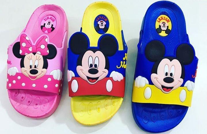 73f3d802c2630e Chinelo Infantil Minnie Mickey