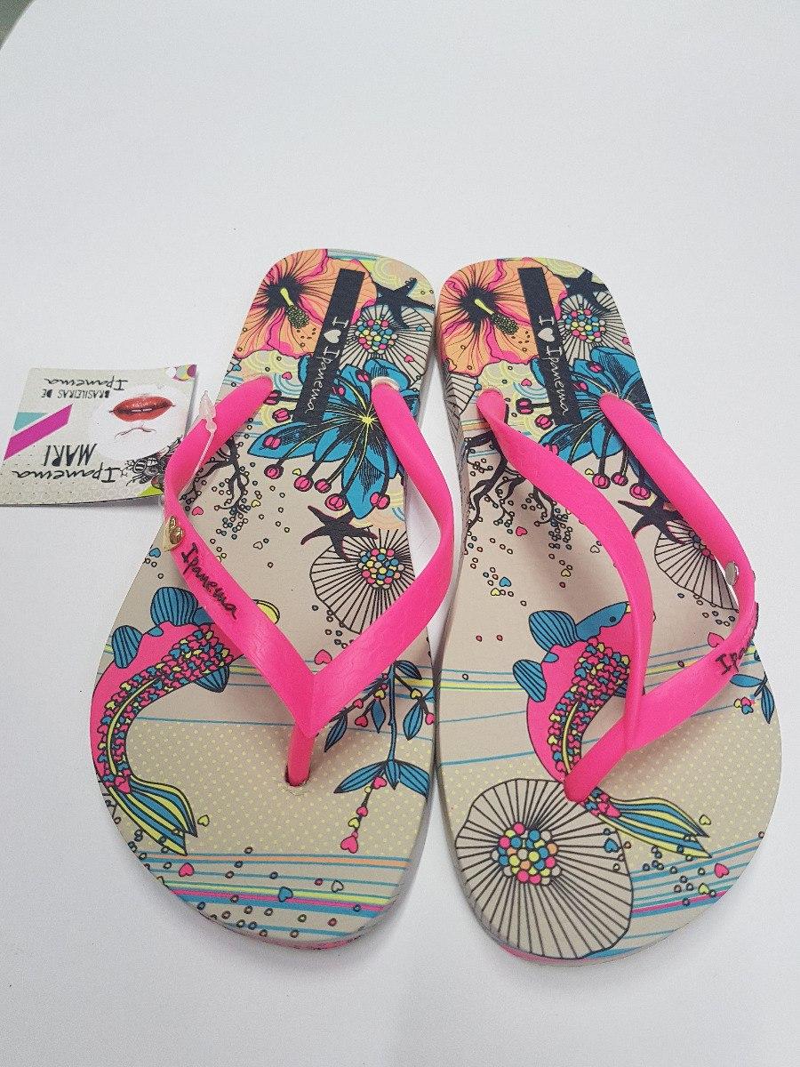 1a6ec78a415 Chinelo Ipanema Mari Cor Bege/rosa - R$ 32,89 em Mercado Livre