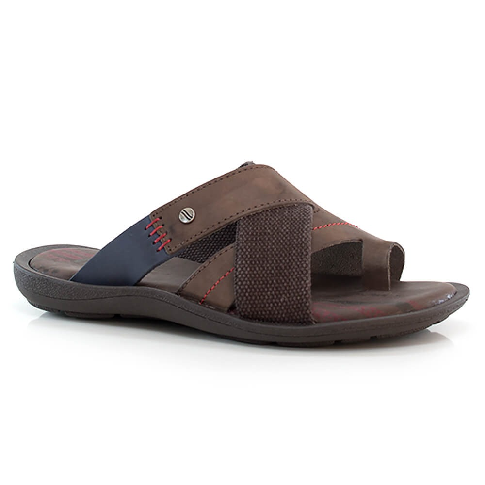 3bd4d5207 chinelo itapuã street em couro - masculino - vanda calçados. Carregando  zoom.
