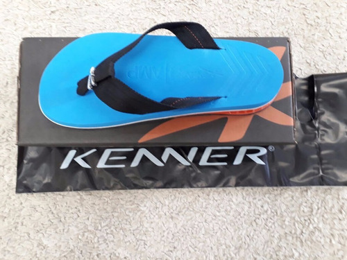 chinelo kenner original azul claro