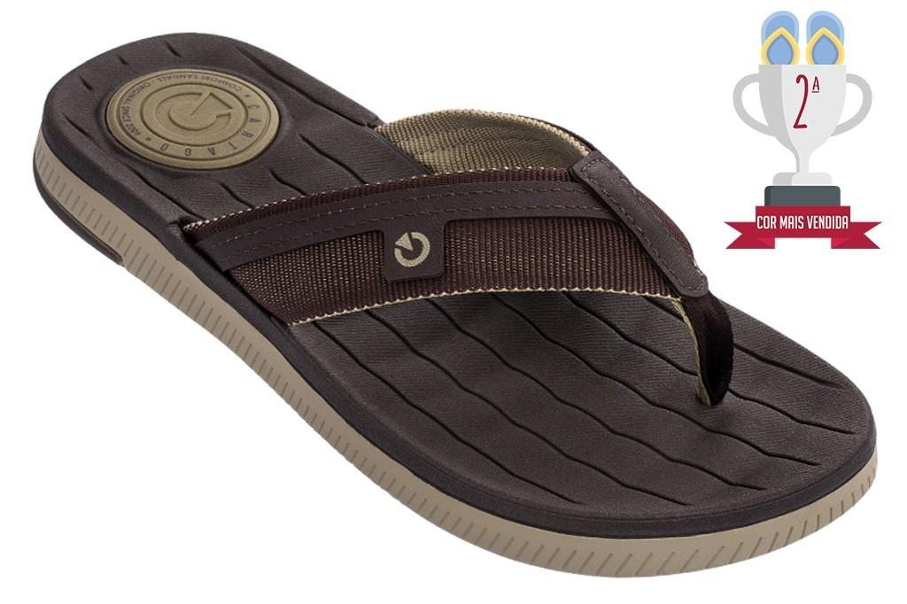 6ebe1a497 Chinelo Masculina Cartago Napoles Iii Slide - R$ 79,99 em Mercado Livre