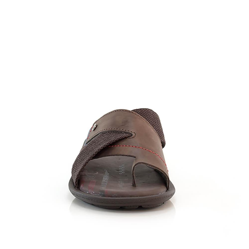 e27130a6c Chinelo Itapuã Street Em Couro - Masculino - Vanda Calçados - R$ 139 ...