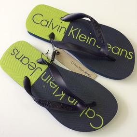 375cc15fed Chinelo Slide Calvin Klein - Calçados, Roupas e Bolsas com o Melhores  Preços no Mercado Livre Brasil