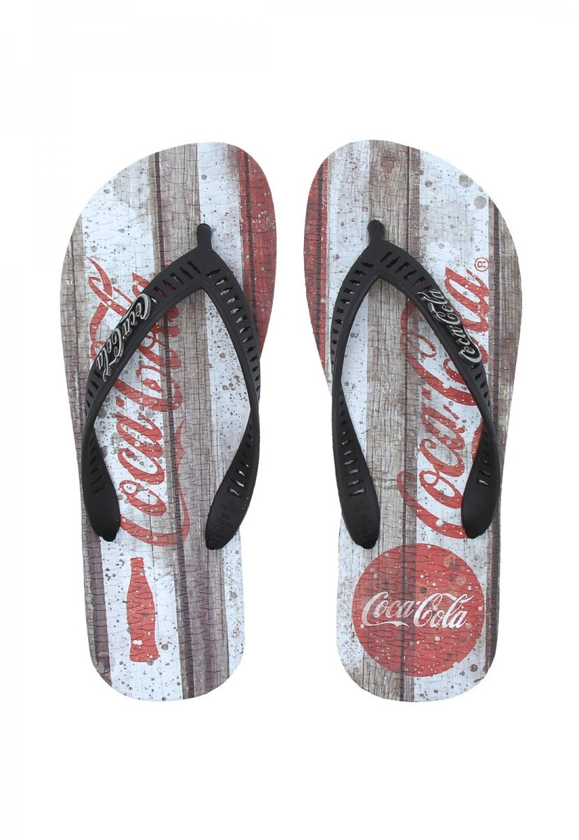 dcb8a0872b chinelo masculino coca cola shoes logo preto. Carregando zoom.