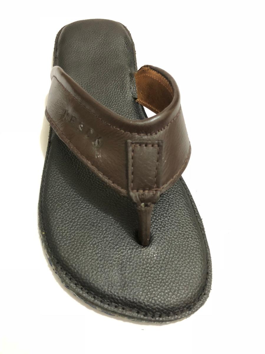 0440c50502 chinelo masculino couro legitimo artesanal com amortecedor-2. Carregando  zoom.