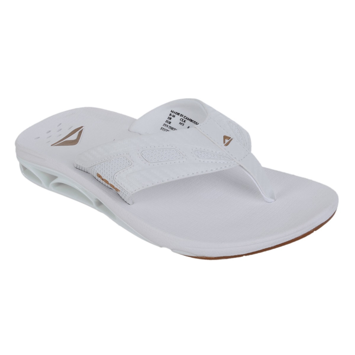 29bcc9a1a9 Chinelo Masculino Reef X-s-1 White Gold - R  159