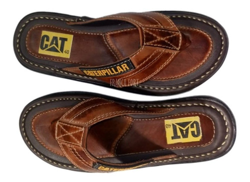 chinelo masculino sandalia em couro  so hoje