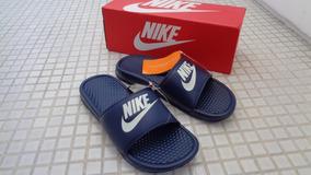 006f663f146b6 Chinelo Nike Benassi Shower Slide Azul Claro Feminino - Sandálias e Chinelos  Chinelos para Masculino com o Melhores Preços no Mercado Livre Brasil