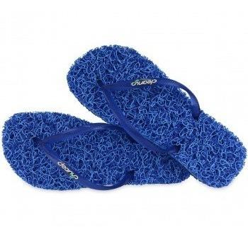 9a8a228f6 Chinelo Massageador Feminino Cleanup Ocean Slim Azul St204 - R$ 55 ...