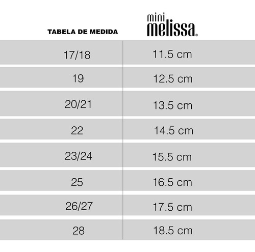 chinelo mini melissa + ipanema - original
