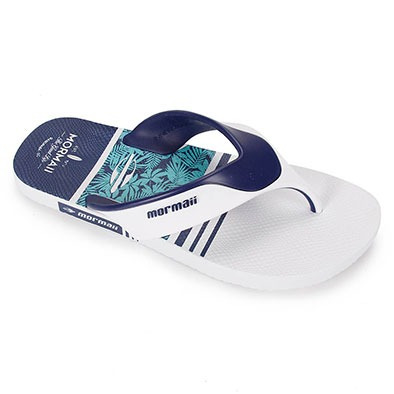 Chinelo Mormaii Neocycle 2.0 Branco Com Azul - R  39 a89e4441793dc