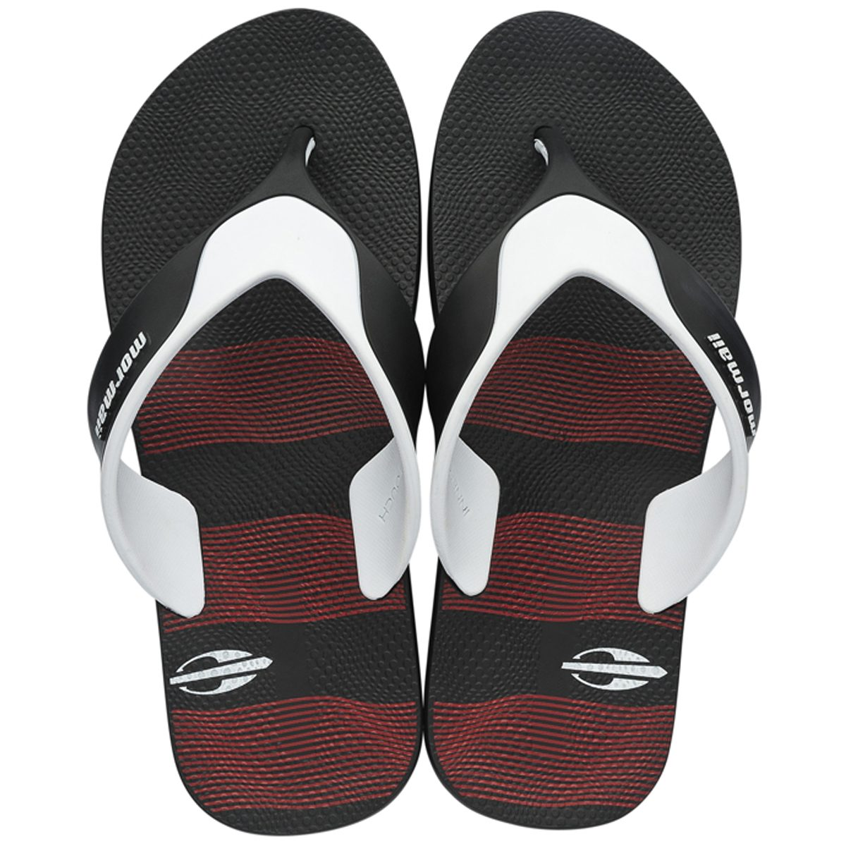 chinelo mormaii neocycle 2.0 preto com bordô. Carregando zoom. 82f21b6b5dd80
