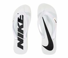 6d0130ec49 Chinelo Nike 2 Cores Preto Com Branco E Vermelho Com Branco