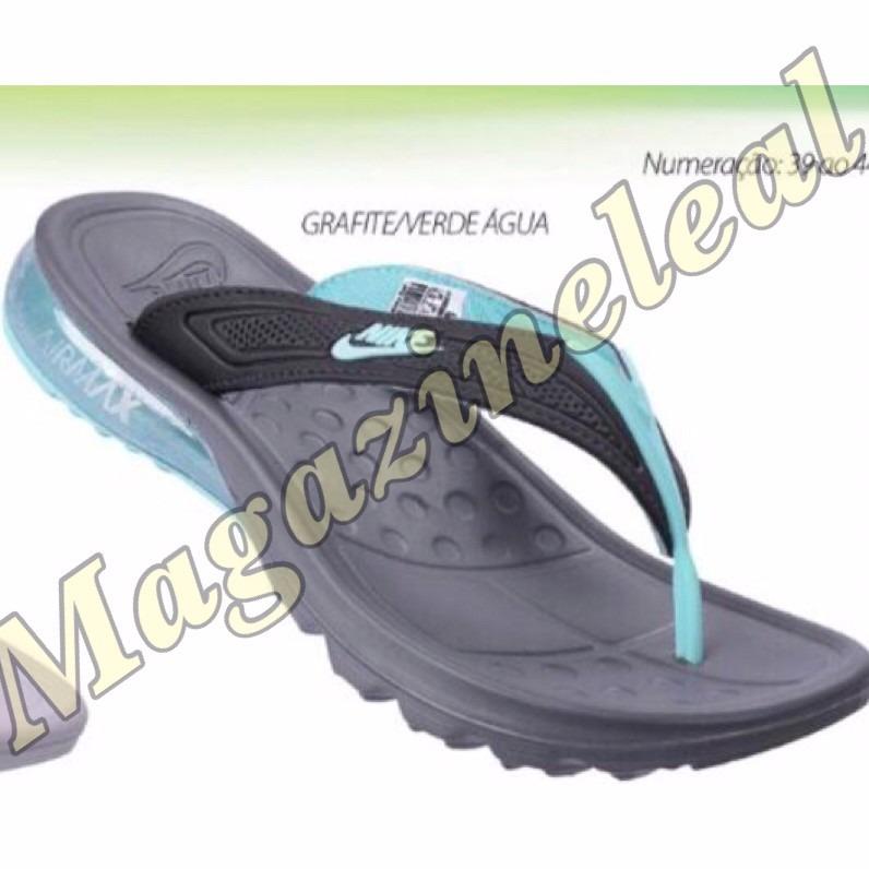a16b39de294 Chinelo Nike Amortecedor Air Max Importado Ja Em Estoque - R  125