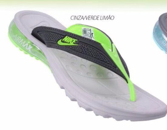 d95327997f4 Chinelo Nike Gel Air Max Original 2017 Conforto Frete Gratis - R ...