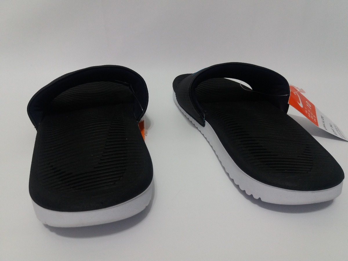 cd27c5ec19 chinelo nike kawa slide preto original. Carregando zoom.