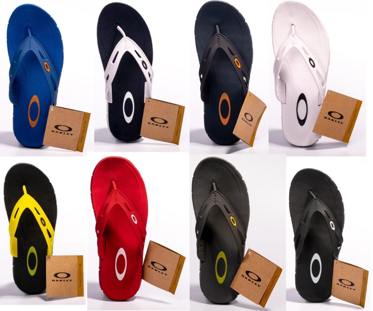 Chinelo Oakley Rest Original Várias Cores Kit C  2 Pares - R  137 8aa15fbcf25