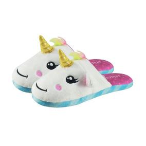 7b264209c Chinelo Pantufa Unicornio - Sapatos no Mercado Livre Brasil